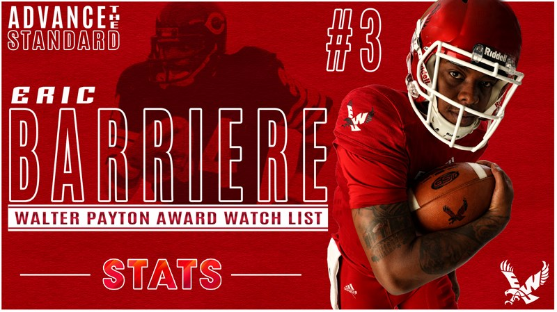 Barriere on Watch List for Payton Award