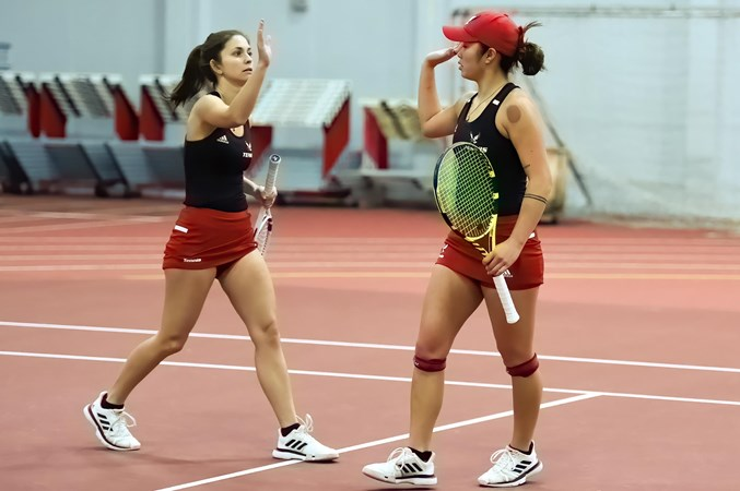 Women's Tennis Earns First Big Sky Conference Victory over Idaho State - Eastern Washington University Athletics